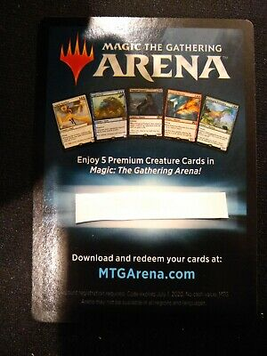 MTG Magic the Gathering ARENA Gift Pack 2018 Exclusive 5 Card Card M19 New Core