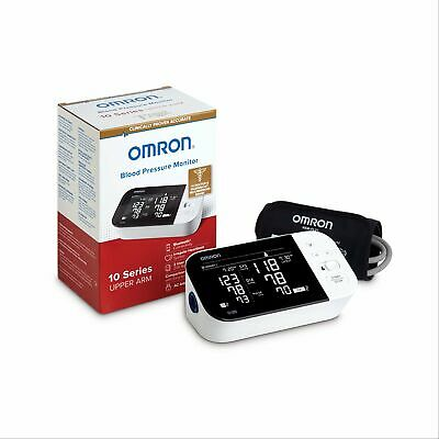 Omron 10 Series Wireless Bluetooth Upper Arm Blood Pressure Monitor with Two...