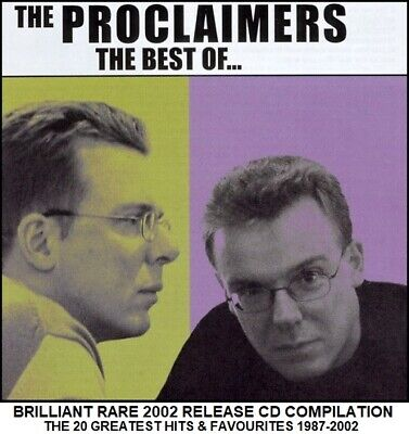 The Proclaimers - Very Best Essential 20 Greatest Hits Collection 1987-2002 CD