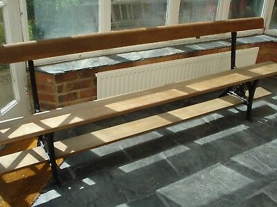 An Antique Pitch Pine Sunday School Bench