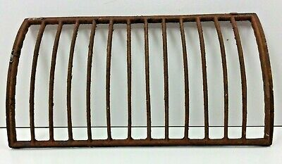 """Curved Grate Only for Cast Iron Auer Register Cover 13"""" x 7-1/4"""""""