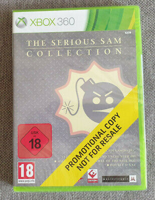 Microsoft Xbox 360 Game Serious Sam Collection Promo Version New Sealed