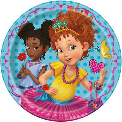 8 FANCY NANCY LARGE PAPER PLATES ~ Birthday Party Supplies Dinner Luncheon