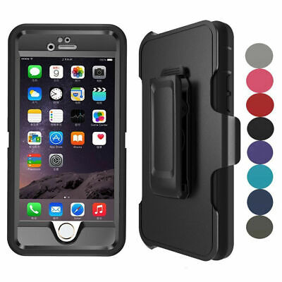 For iPhone 7 8 Plus Case with Belt Clip   Fits Otterbox DEFENDER SERIES