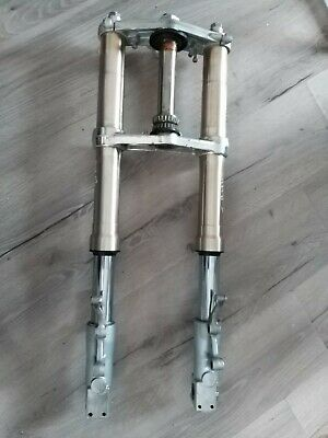 Kawasaki Zxr400L Upside Down Forks & Top & Bottom Yokes