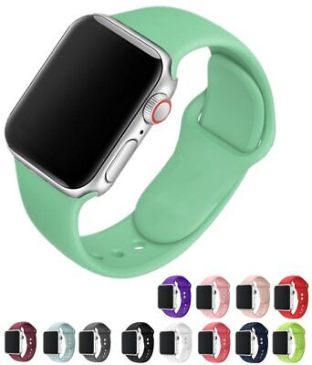 Band For Apple Watch Series 3 2 1 38MM 42MM Soft Silicone Breathable