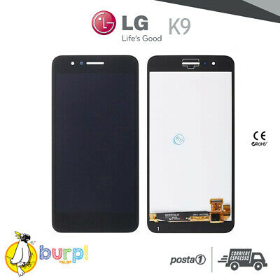 Display Lcd + Touch Screen Per Lg K9 Nero Black Schermo Vetro Assemblato Aaa+
