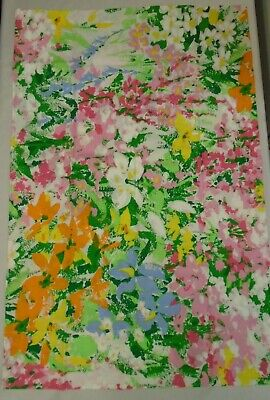 Springmaid Wondercale Pillowcases 2 Stnd Bright Floral Color Splashes Orig.Folds