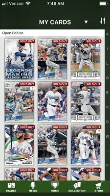 2018 Topps Bunt • INSERT Lot • YOU PICK 9 Digital Cards • Aaron Judge etc