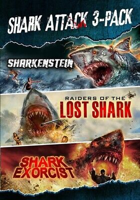 Shark Attack Collection (DVD,2019)