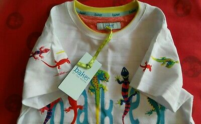 BNWT Baker by Ted Baker Boys T-shirt Age 8-9 years