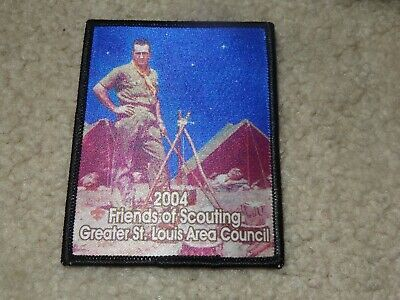 BOY SCOUT BSA Greater St  Louis Area Council Norman Rockwell Scoutmaster  Patch