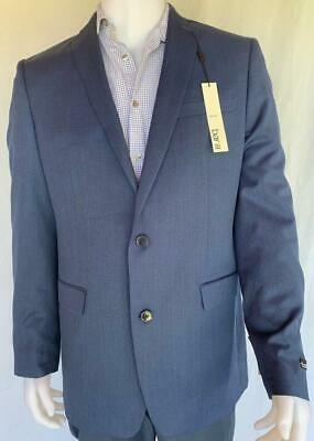 BAR III Men's Blue 2 Buttons Blazer slim fit Size 42L NWT MSRP $425