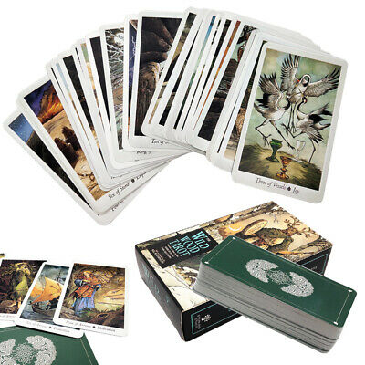 78pcs Tarot Deck Cards Mysterious Animal English Playing Board Game 103x60mm