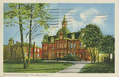 Provincial Normal College, Truro NS Nova Scotia Canada Postcard