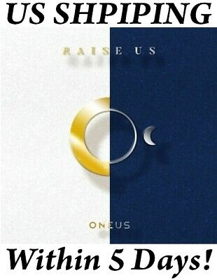 [US SHIPPING] Oneus-[Raise Us] Album CD+Booklet+PhotoCard+etc Free ship