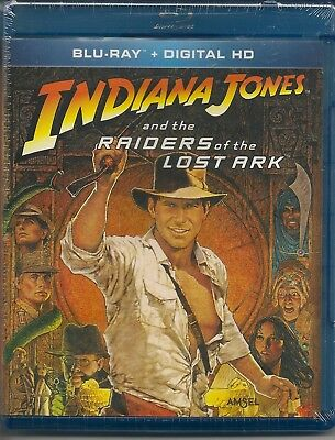 Raiders of the Lost Ark - Blu-ray - Harrison Ford - Karen Allen - New and Sealed