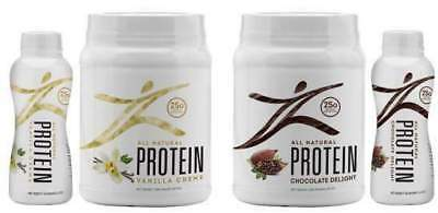 Zurvita Zeal For Life Vanilla/Chocolate Protein  30 Servings (FREE SHIPPING)