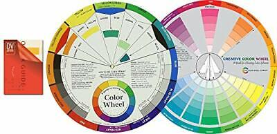 "Color Mixing Guides: Color Wheel (9-1/4"") Plus Creative Color Wheel (9-1/4"")"