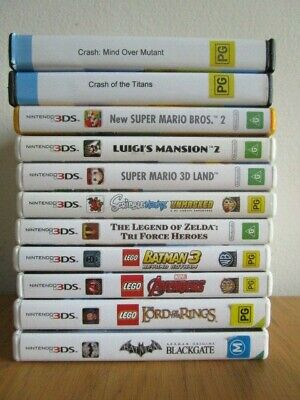 3DS Games Nintnedo 3Ds *Choose Your Own Game Nintendo 3DS DS * Free Post  3Ds