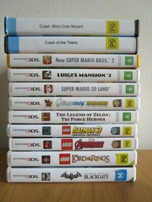 Nintendo 3DS GAMES 3DS 2DS 3 DS XL *Choose Your Own* Game Nintendo Games 3Ds