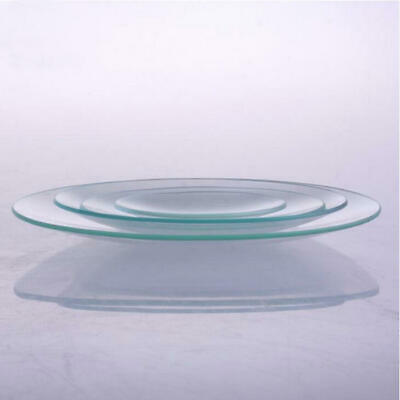 Glass Lab ware Flat Watch Glass Dish Surface 10 size option Disk for Laboratory