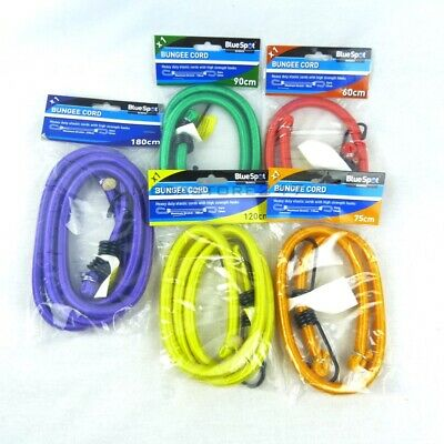 Bungee Straps Cords 12Mm With Hooks Elasticated Rope Cord Car Bike Luggage