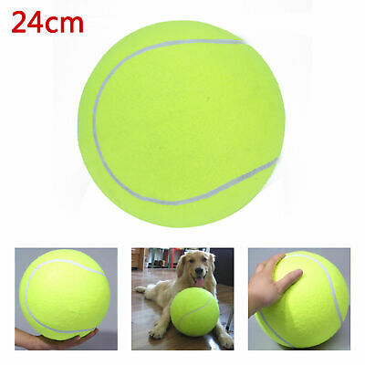 24CM Big Giant Pet Dog Puppy Tennis Ball Thrower Play Toy Children A0J3 AU