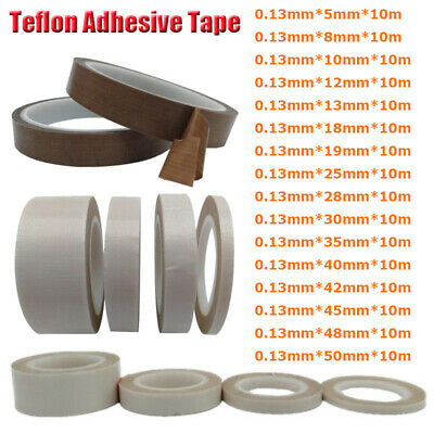 0.13mm PTFE Teflon Adhesive Tape High Temperature Heat-Resistant Tape 5mm-28mm