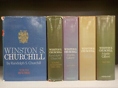 Winston S. Churchill Volume 1-5 - 5 Books Collection! (ID:5026)