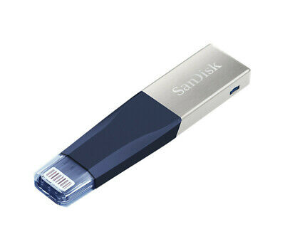 SanDisk iXpand Mini 64GB 128GB USB 3.0 Flash Drive Memory Stick SDIX40N for iPad
