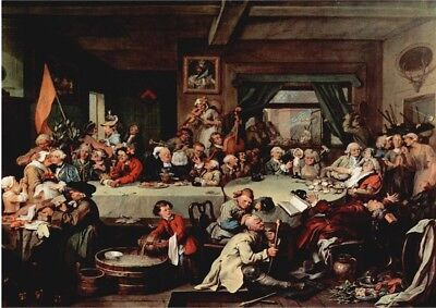 An Election Entertainment Hogarth 230gsm photo quality paper choose size
