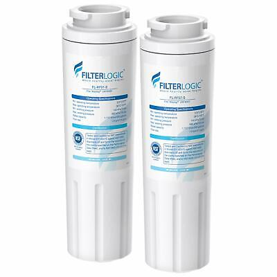 2Pack-Whirlpool EDR4RXD1, 4396395, UKF8001, Filter 4 Refrigerator Water Filter