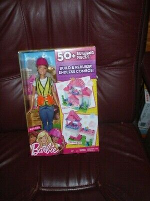 Barbie Doll Builder 50+ Building pieces to Make Beach House or Treehouse New