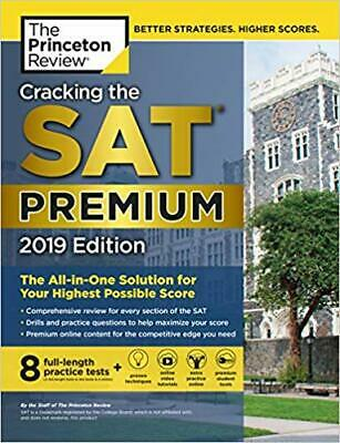 Cracking the SAT Premium Edition with 8 Practice Tests, 2019 | E-Bo0ks