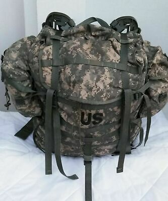 *NEW* US GI Military Issue MOLLE II Large Ruck and Frame w/Sustainment Pouches