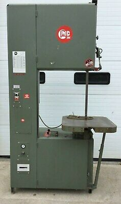 """Grob 4V-24 Variable Speed 24"""" Metal Cutting Vertical Band Saw"""