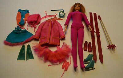 Sears Living Action Accents Barbie Gift Set w/ Dramatic Living Barbie from Japan