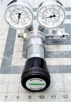 PRAXAIR HIGH PRESSURE Gas Regulator 4000 PSI In & 1000 PSI Out NEW