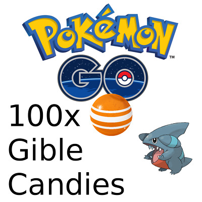POKEMON GO 100X Candies Farm Hunt Pokemon Handmade catches No Ban