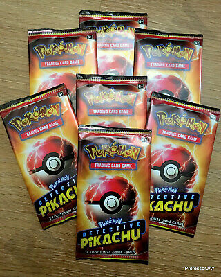 Pokemon Cards - NEW - 1x DETECTIVE PIKACHU - 2 Additional MOVIE Booster Pack