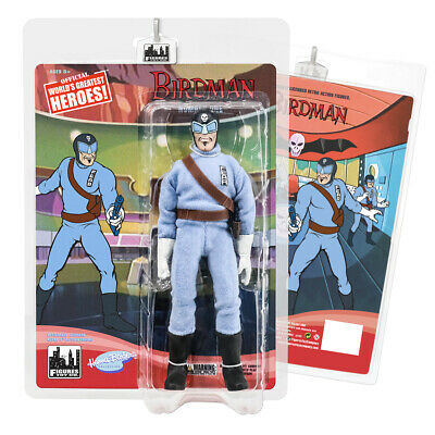 Birdman & The Galaxy Trio 8 Inch Retro Action Figures Series: Number One