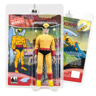 Birdman & The Galaxy Trio 8 Inch Retro Action Figures Series: Birdman Ray Randal
