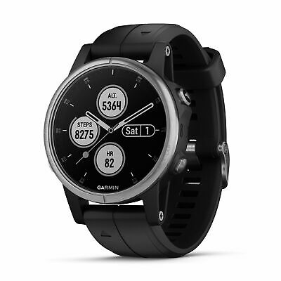 Garmin 010-01987-20 Fenix 5S Plus 42mm Glass Multisport GPS Watch