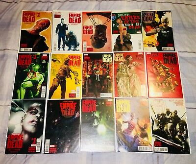 George Romero's Empire Of The Dead Act 1-3 #1-5 Complete Sets Marvel Comics