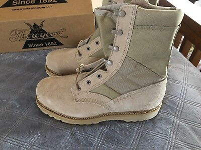 4043d41d05b ORIGINAL NIB THOROGOOD Hot Weather Steel Toe Boot, Desert Tan, Size ...