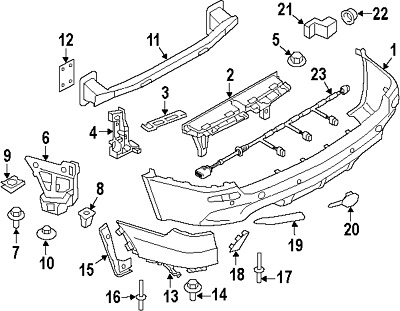 BMW 51-64-7-245-796SUPPORT FOR FRONT AXLE SUBFR#17 On Picture