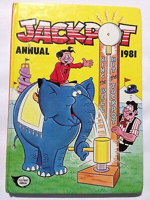The JACKPOT Annual 1981. Good Condition **Free UK Postage**