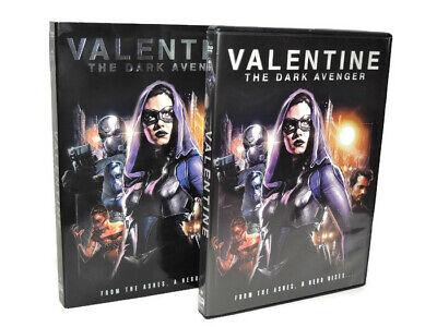 Valentine The Dark Avenger DVD Widescreen Version 2018 Superhero Movie
