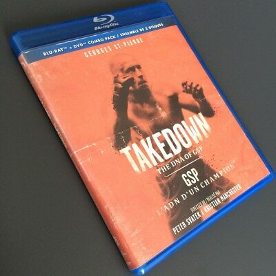Takedown: The DNA of GSP [Blu-ray/DVD 2-disc set, 2014, Canadian, Bilingual] UFC